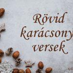 Rövid karácsonyi versek