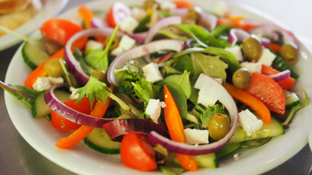 zöldség saláta