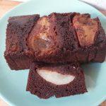 Csokis körtés fordított süti