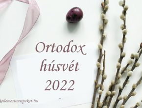 ortodox húsvét 2022