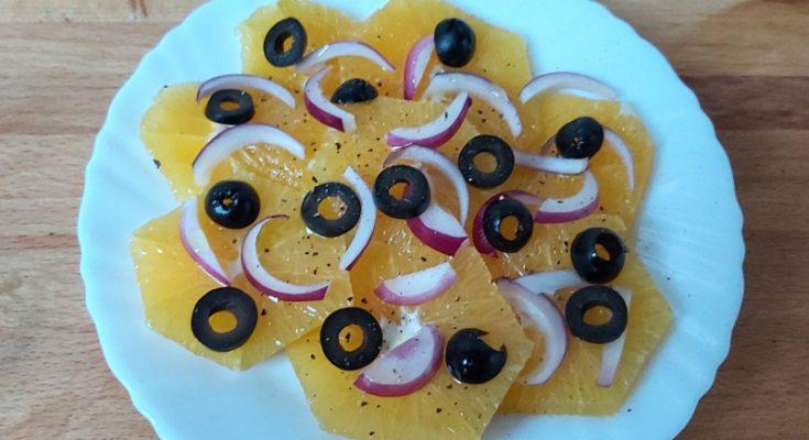 szicíliai narancssaláta