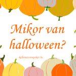 Mikor van halloween?