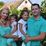 Húsvéti gyermek és családi fotózás akár szabadtéren is