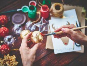 kreatív karácsony házilag