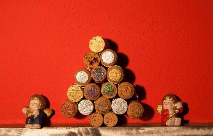 parafadugó karácsonyi dekoráció